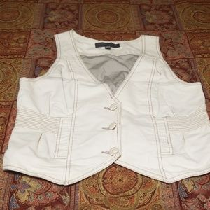 Proenza Schouler Button Front Waistcoat Vest